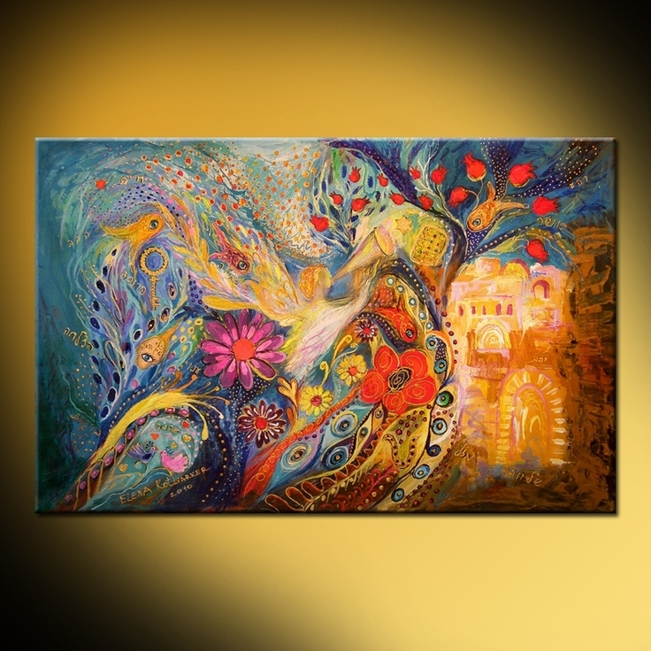 Featured Image of Jewish Canvas Wall Art