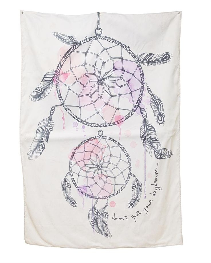 236 Best   T Y P O   Images On Pinterest | Digital Detox, Bedroom Intended For Dreamcatcher Fabric Wall Art (Image 2 of 15)