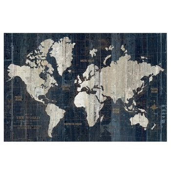"24"" X 36"" Old World Map Poster 