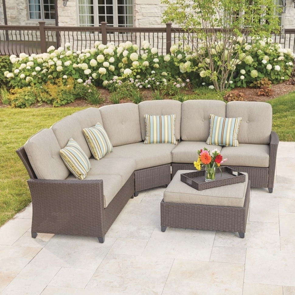 25 Best Ideas Of Outdoor Sectional Sofa Home Depot Pertaining To Home Depot Sectional Sofas (Image 1 of 10)
