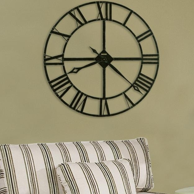 25 Ideas For Modern Interior Decorating With Large Wall Clocks in Clock Wall Accents