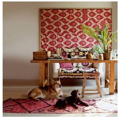26 Best [ Scarf Framing ] Images On Pinterest | Dreams, Frame Throughout Ikat Fabric Wall Art (Image 3 of 15)