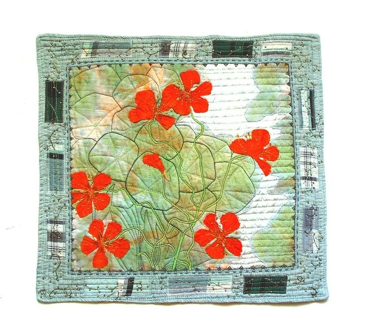260 Best My Textile Art Images On Pinterest | Fiber Art, Textile Within Contemporary Textile Wall Art (Image 3 of 15)