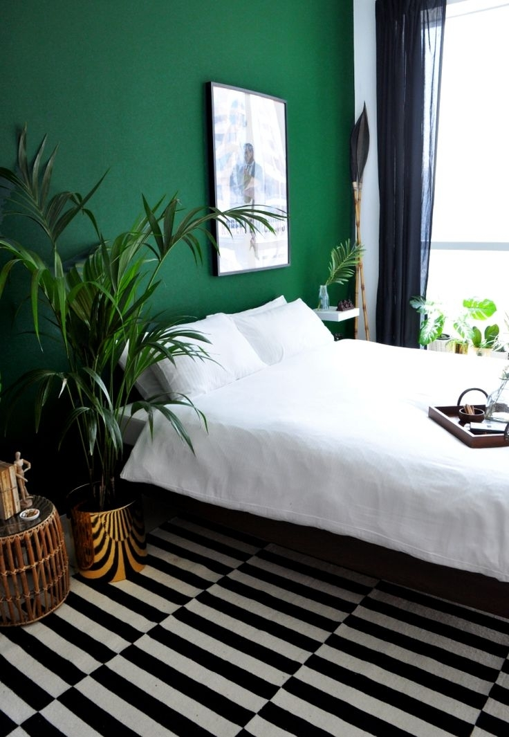 264 Best How To Style It Green – Interior Decor Ideas Images On In Green Wall Accents (Image 2 of 15)