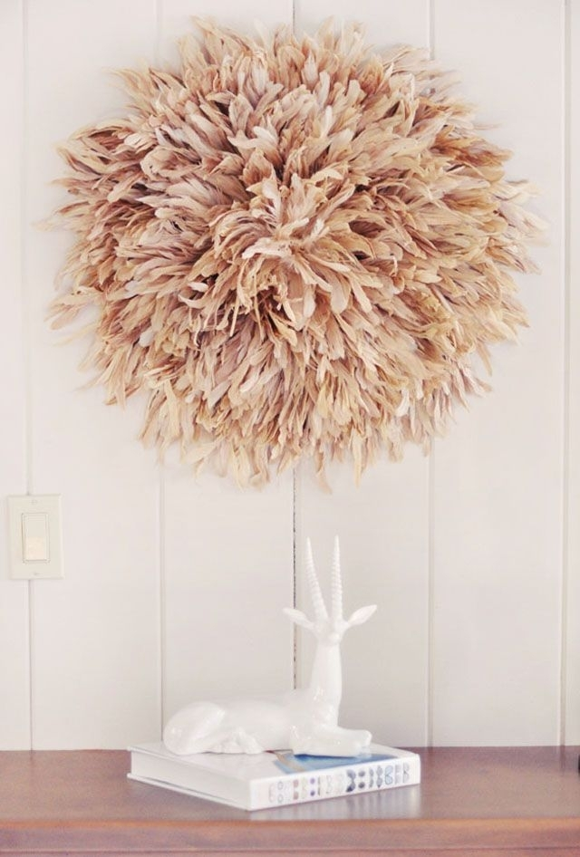 268 Best Feathers For Home Decor Images On Pinterest | Feather Regarding African Wall Accents (View 19 of 27)