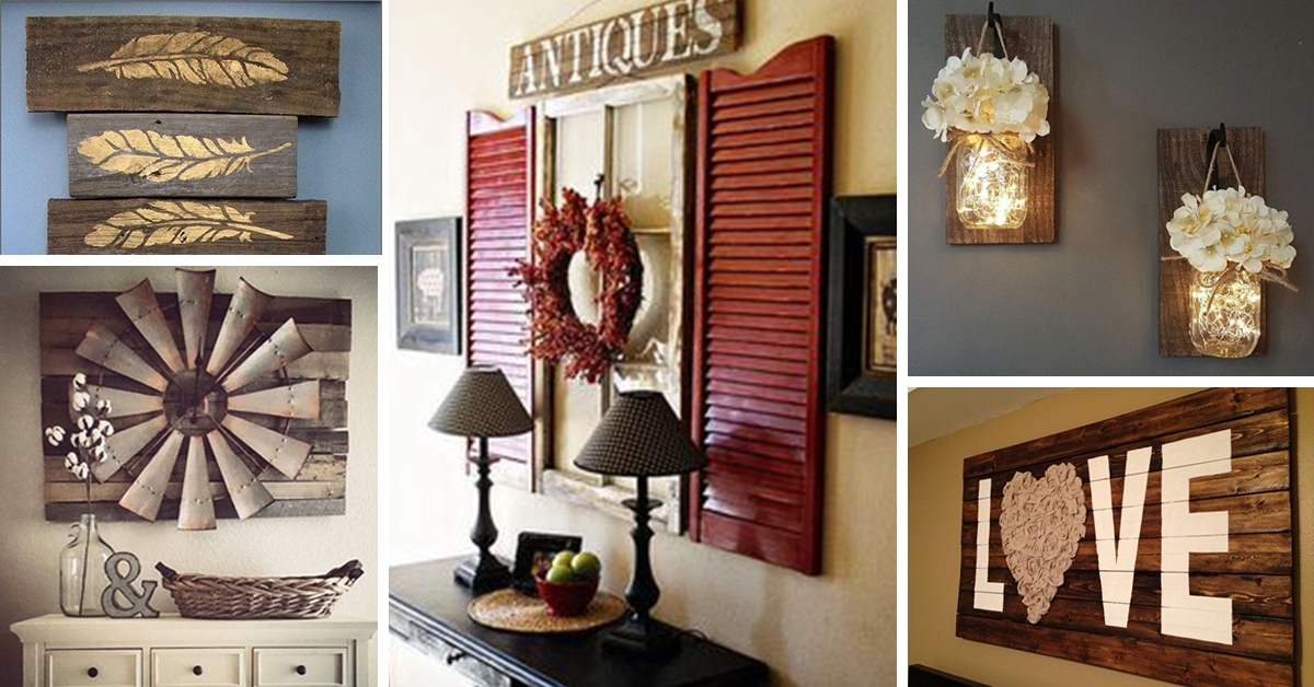 Featured Image of Rustic Wall Accents