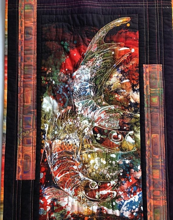 276 Best Batik Tambal Fabric At Artistic Artifacts Images On With Regard To Batik Fabric Wall Art (Image 2 of 15)