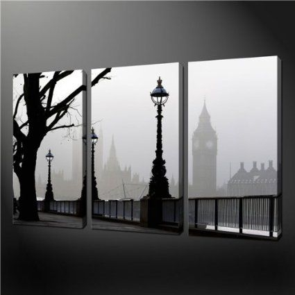 28 Best Blauwe Maandag Images On Pinterest | Painting Art With London Canvas Wall Art (View 11 of 15)