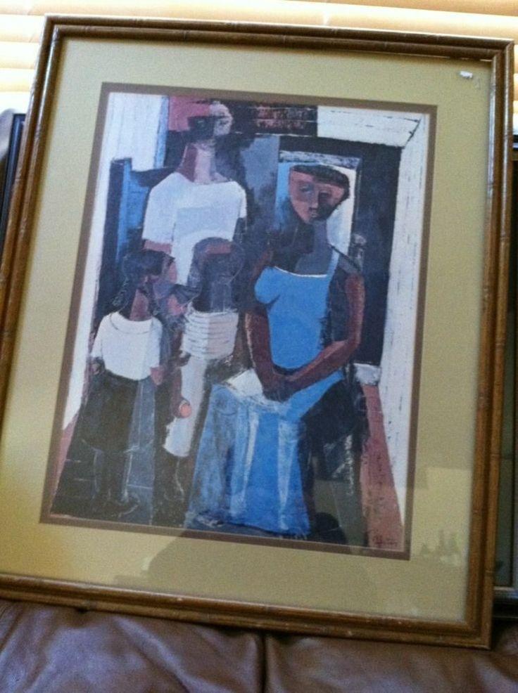 28 Best James Denmark Images On Pinterest | Africa Art, African Throughout Famous Art Framed Prints (Image 3 of 15)