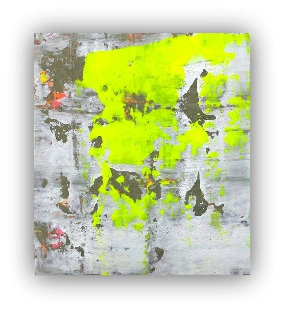 28 Best Wall Art Images On Pinterest | Abstract Art Paintings Pertaining To Abstract Neon Wall Art (Image 5 of 15)