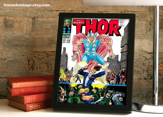 Featured Image of Framed Comic Art Prints
