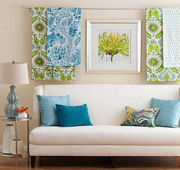 3 Ideas For 3 D Wall Art | Midwest Living With Fabric Wall Art Panels (Photo 2 of 15)