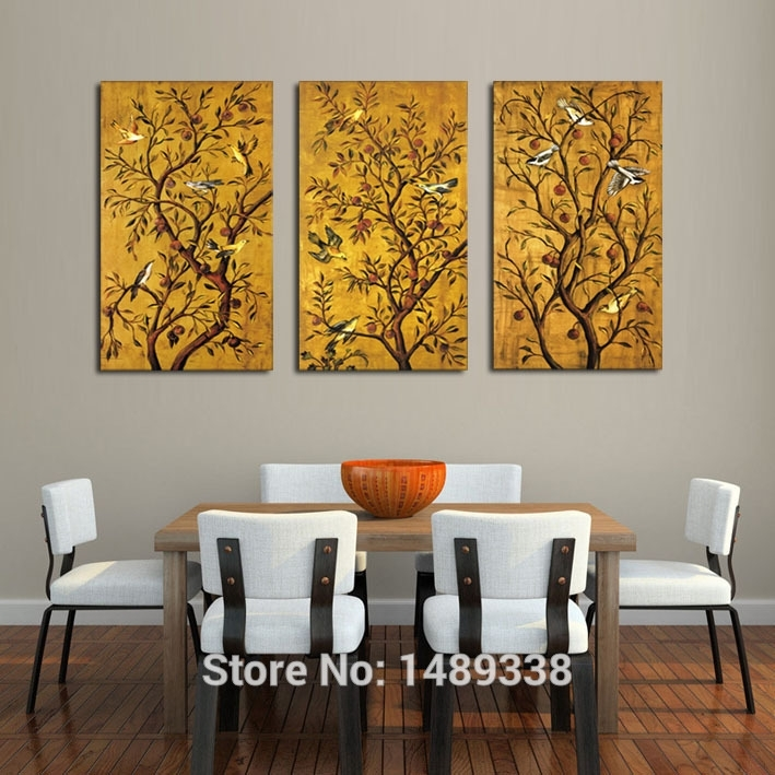 3 Panel Framed Art Wall Print Painting Large Art Hd Picture Home Inside Framed Art Prints For Living Room (Photo 12 of 15)