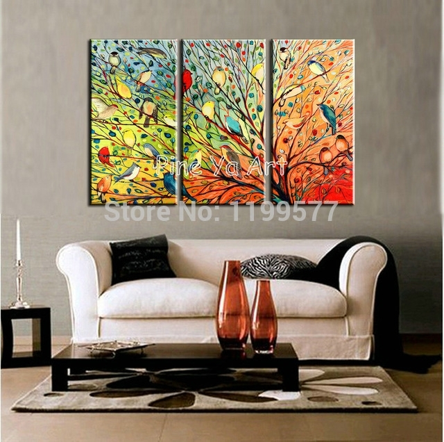 Featured Photo of Abstract Living Room Wall Art