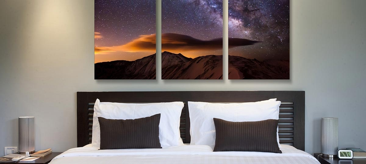 3 Piece Wall Art – Find Beautiful Canvas Art Prints In 3 Panels Regarding Canvas Wall Art In Canada (Image 3 of 15)