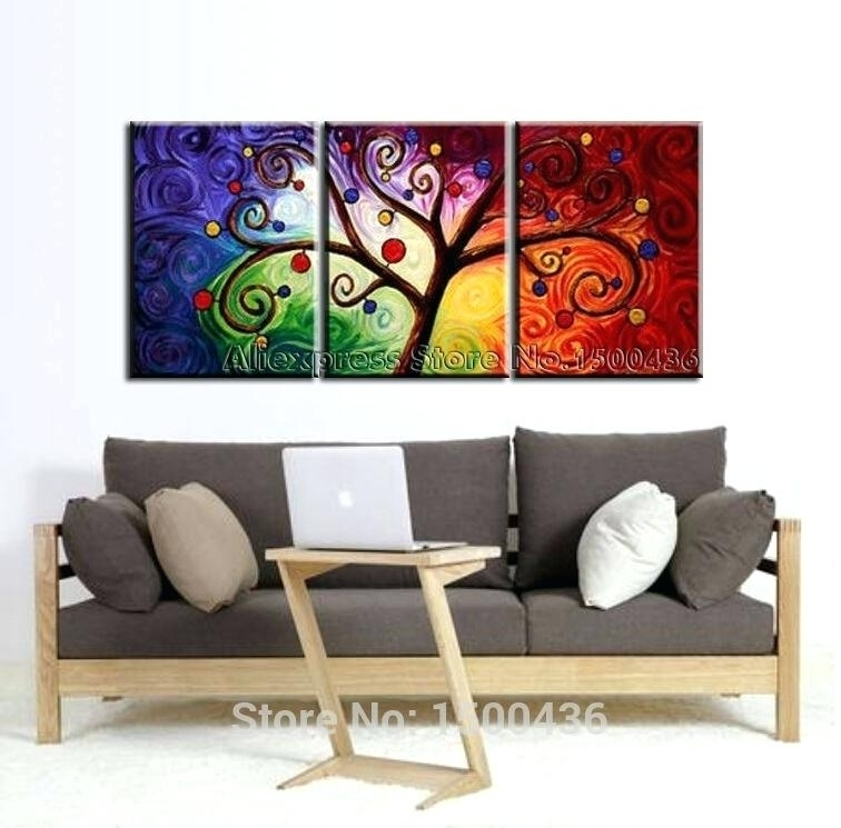 3 Piece Wall Art Sets – Euprera2009 In Abstract Canvas Wall Art Iii (View 15 of 15)