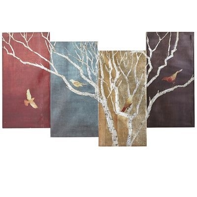 30 Best Wall Art Images On Pinterest | Pier 1 Imports, Painted Pertaining To Fabric Bird Wall Art (Image 2 of 15)