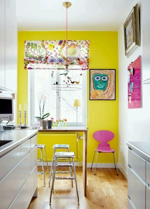10+ Choices of Yellow Wall Accents | Wall Art Ideas
