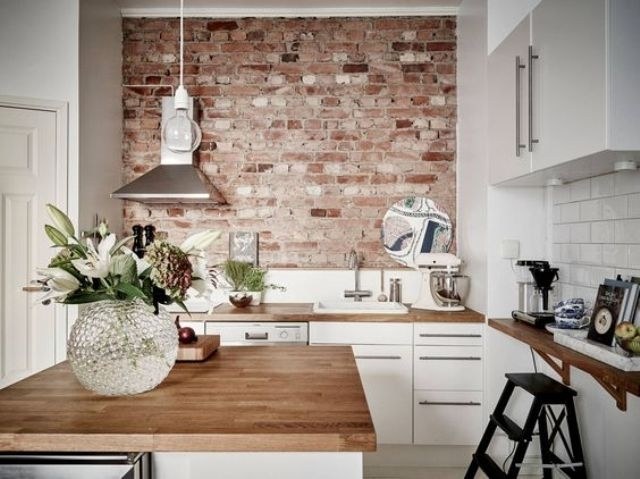30 Trendy Brick Accent Wall Ideas For Every Room - Digsdigs with Brick Wall Accents