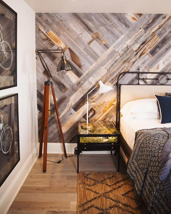 30 Wood Accent Walls To Make Every Space Cozier – Digsdigs In Wood Wall Accents (Image 5 of 15)