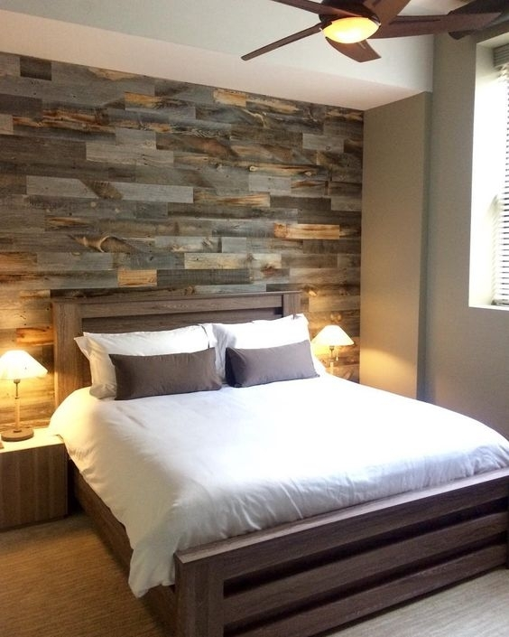 30 Wood Accent Walls To Make Every Space Cozier – Digsdigs Inside Wood Wall Accents (Image 6 of 15)