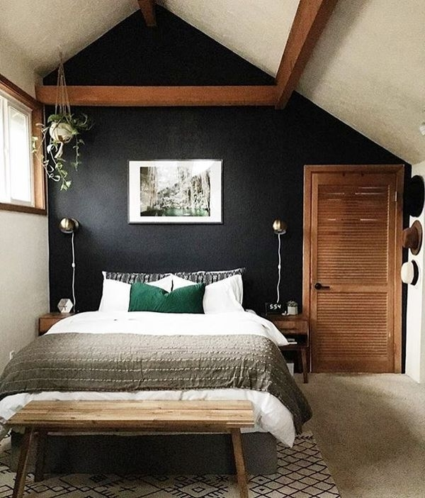 3000 Best Bedrooms Images On Pinterest | Bedroom Ideas, Bedroom For Wall Accents For Small Bedroom (View 6 of 15)