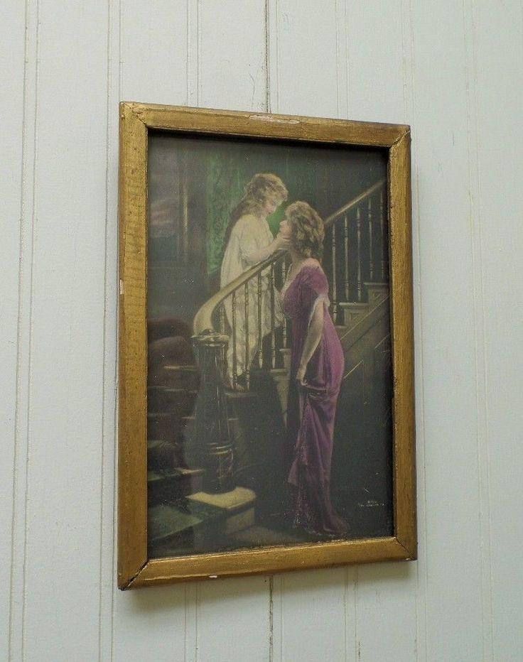 308 Best Framed Nostalgic Wall Art Images On Pinterest | Bessie With Antique Framed Art Prints (View 2 of 15)