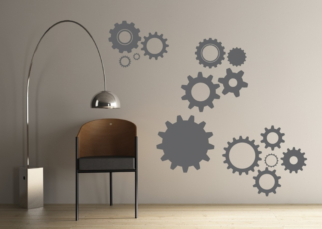 34 Wall Art Vinyl Decorating Your Home With Vinyl Wall Decals For Within Vinyl Wall Accents (Photo 12 of 15)
