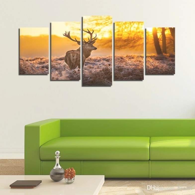 35 Collection Of Deer Canvas Wall Art Inside Deer Canvas Wall Art (Photo 11 of 15)