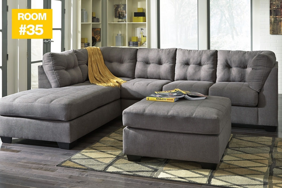 35 - Malo Sectional + Ottoman At Gardner-White for Sectionals With Ottoman