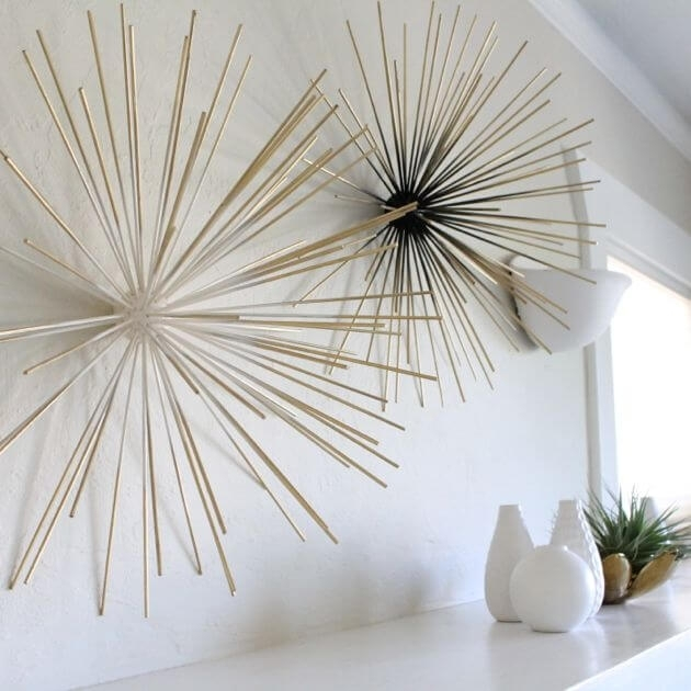 36 Best Diy Wall Art Ideas (Designs And Decorations) For 2018 Pertaining To Diy Wall Accents (Image 3 of 15)