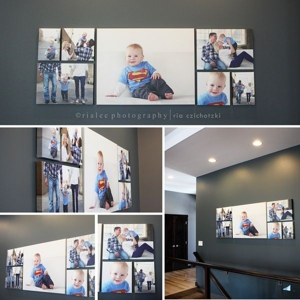 36 Best Wall Art – How To Arrange Your Photos Images On Pinterest Throughout Groupings Canvas Wall Art (Photo 11 of 15)