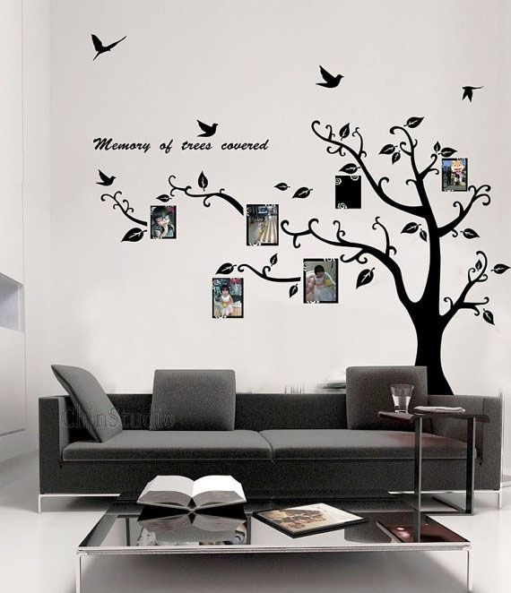 38 Best Wall Stickers Images On Pinterest | Wall Clings, Wall For Removable Wall Accents (Image 3 of 15)