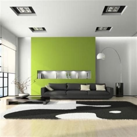 39 Best Green Living Room Images On Pinterest | Green Living Rooms Regarding Green Wall Accents (Photo 7 of 15)