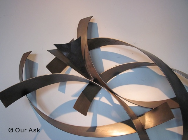 4 Eye Catching!!! Abstract Metal Wall Art And Sculpture | Our Ask With Abstract Metal Sculpture Wall Art (Photo 12 of 15)