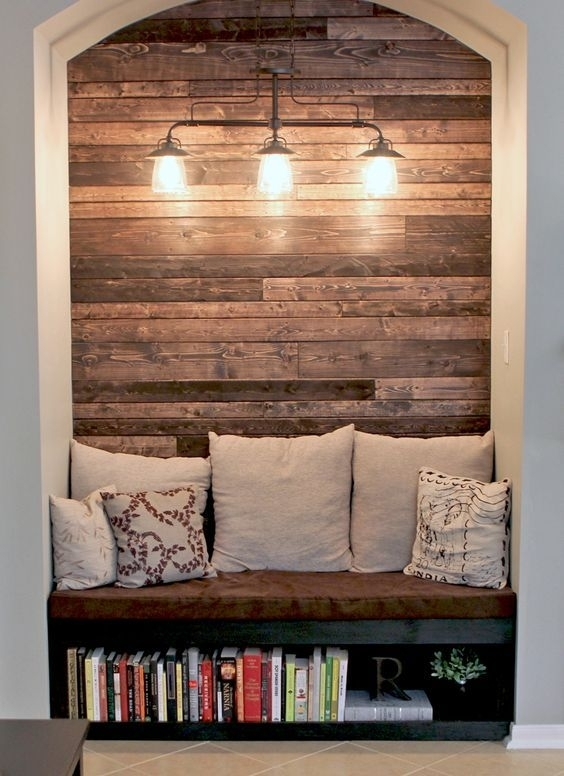 4 Stunning Diy Pallet Wall Ideas For Your Home | Reading Nooks regarding Wall Accents With Pallets