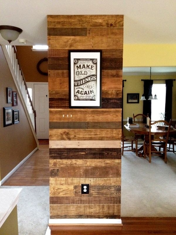 40 Best Reclaimed Wood – Accent Walls Images On Pinterest | Wine Intended For Wall Accents Made From Pallets (Image 7 of 15)