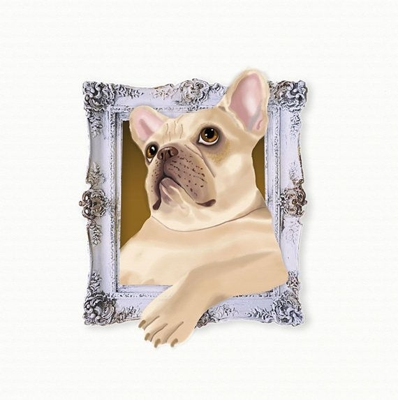 40 Best Tiny Dog Prints In Frames Images On Pinterest | Dog Art Pertaining To Dog Art Framed Prints (Photo 13 of 15)