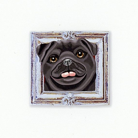 40 Best Tiny Dog Prints In Frames Images On Pinterest | Dog Art With Dog Art Framed Prints (Image 3 of 15)