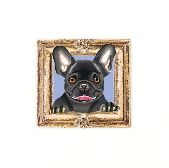 40 Best Tiny Dog Prints In Frames Images On Pinterest | Dog Art With Regard To Dog Art Framed Prints (Image 4 of 15)