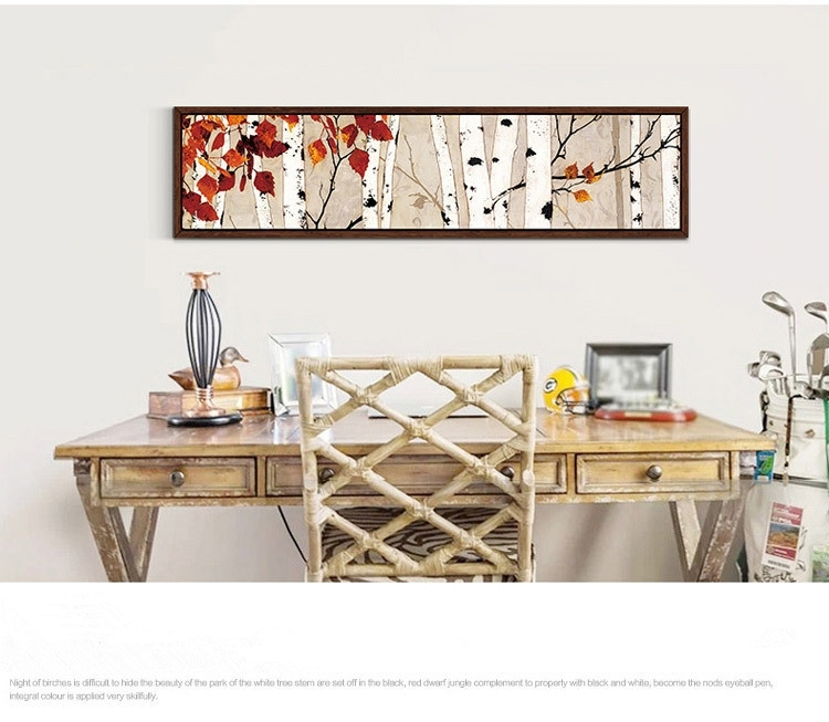 40 Bold And Modern Horizontal Wall Decor | Panfan Site Within Horizontal Abstract Wall Art (Photo 7 of 15)