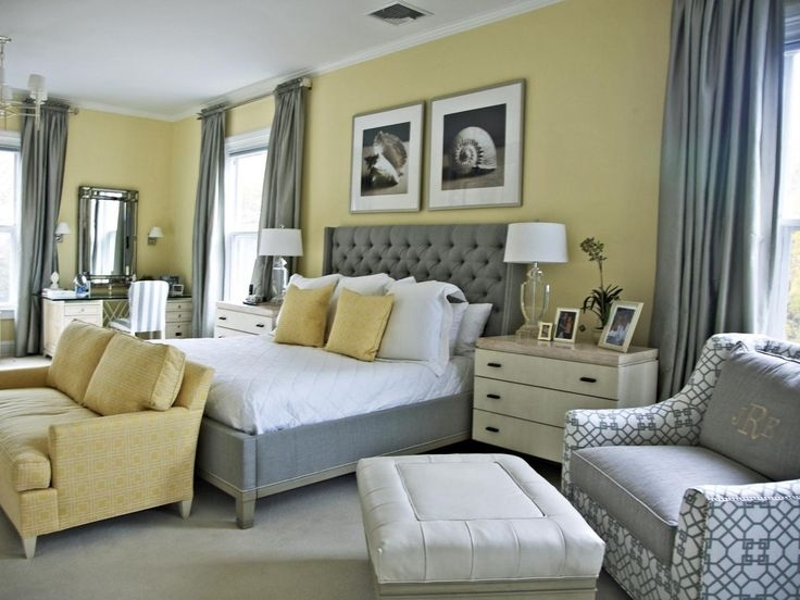 40 Bold Design Gray And Yellow Wall Decor | Panfan Site In Wall Accents For Yellow Room (Photo 3 of 15)