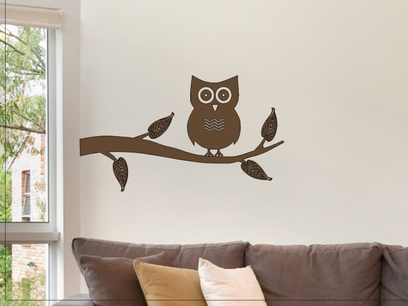 40 Cool Design Owl Wall Decor | Panfan Site within Etsy Wall Accents