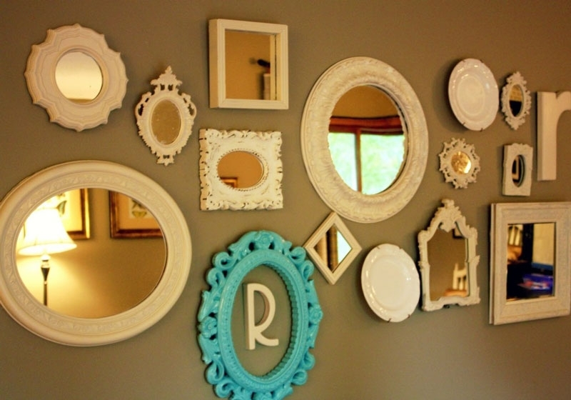 40 Glamorous Wall Mirror Sets | Panfan Site For Mirror Sets Wall Accents (Image 1 of 15)