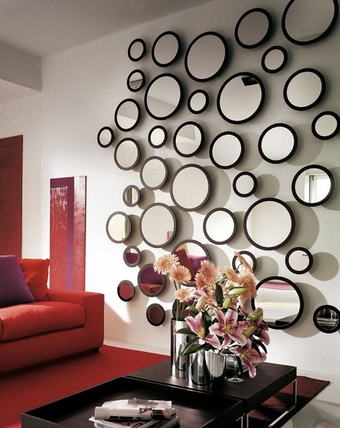 40 Glamorous Wall Mirror Sets | Panfan Site With Mirror Sets Wall Accents (Image 2 of 15)