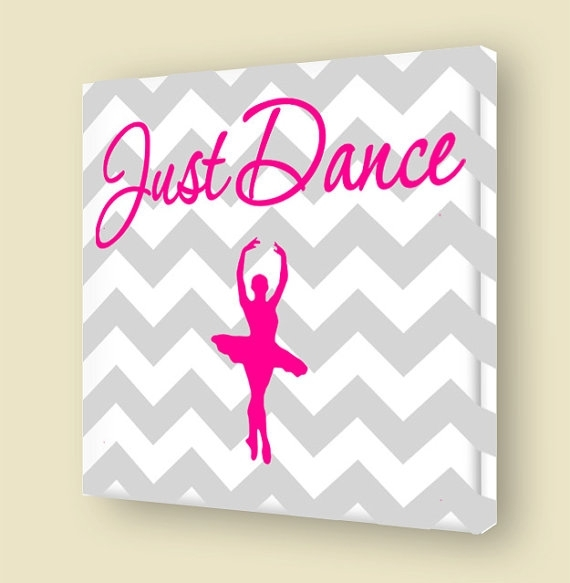 40 Merry Ballerina Wall Art | Panfan Site With Regard To Dance Canvas Wall Art (View 9 of 15)