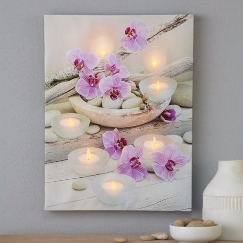 40 Shining Ideas Orchid Wall Art | Panfan Site throughout Orchid Canvas Wall Art