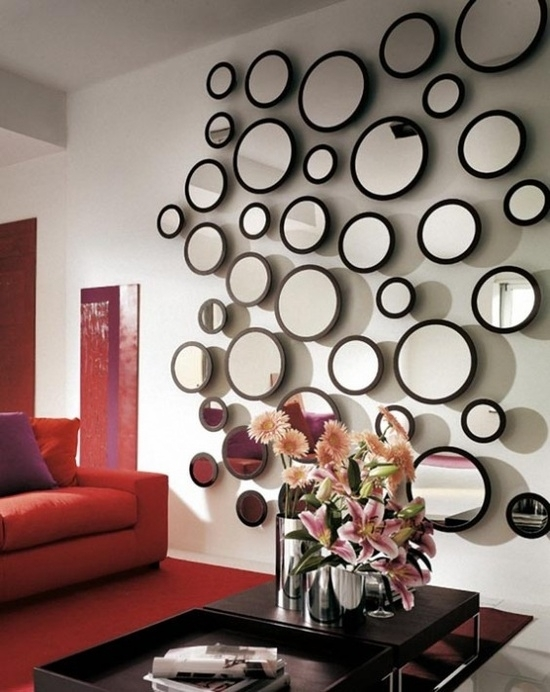 40 Stylist Inspiration Wall Decor Mirror | Panfan Site Inside Mirrors Wall Accents (Photo 9 of 15)