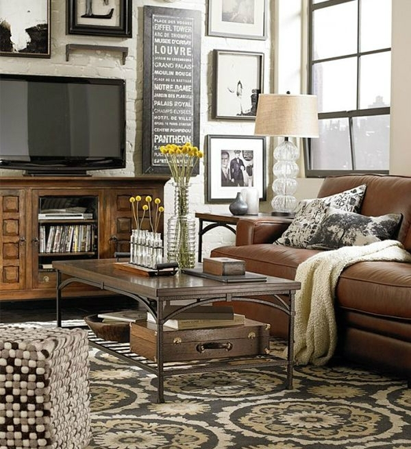 40 Tv Wall Decor Ideas – Decoholic With Regard To Wall Accents Behind Tv Or Couch (View 13 of 15)