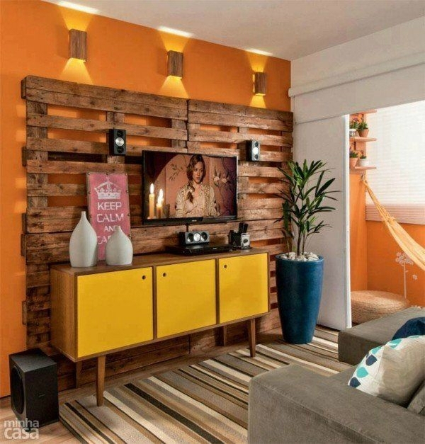 40 Tv Wall Decor Ideas – Decoholic Within Wall Accents With Tv (Photo 11 of 15)